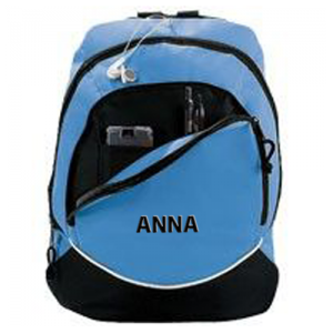 Cheerleading Bags Backpack with Name in Block Font-0
