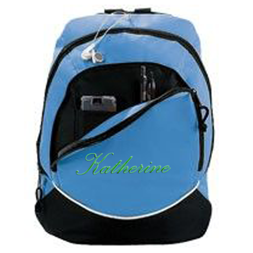 Cheerleading Bags Backpack with Name in Script Font-0