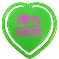 Cheerleading Bookmark Heart to Cheer-0