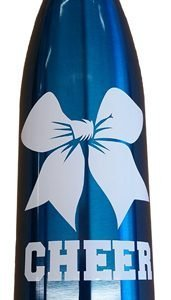 Cheerleading Bow Insulated Water Bottle-0