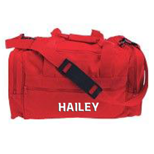 Cheerleading Bags Duffle with Name in Block Font-0