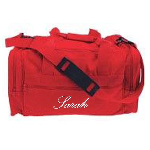 Cheerleading Bags Duffle with name in Script Font-0