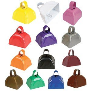 Cheerleading Noise Makers Cowbells-0