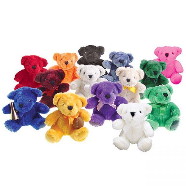 Cheerleading Bear in Team Colors-0