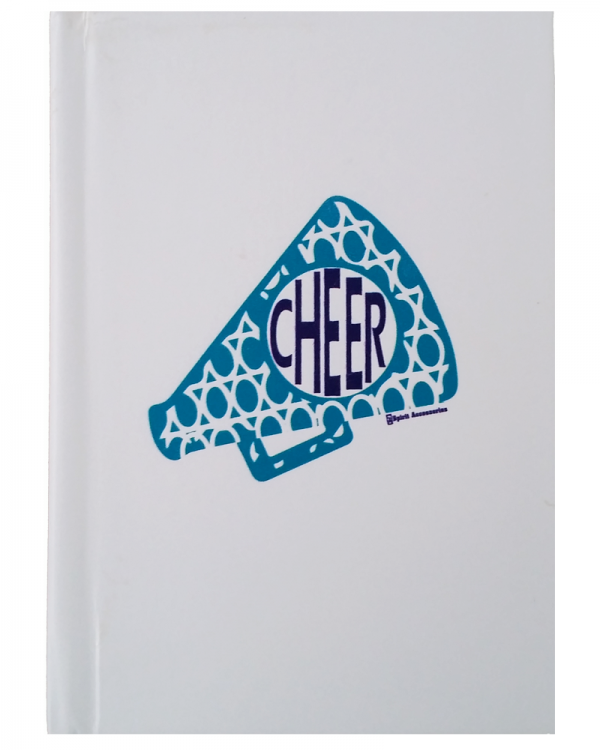 Cheer Megaphone Notebook-0