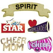 Cheerleading Chenille Lapel Pins-0