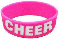 Cheerleading Bracelet Silicone Cheer-0