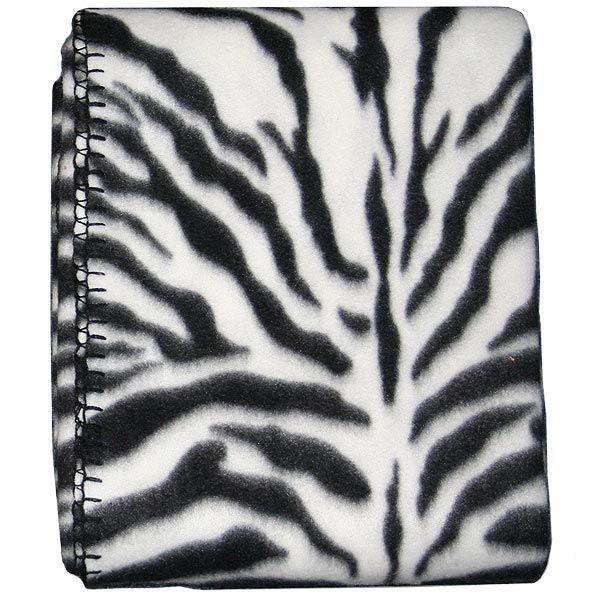 Blank Fleece Blanket Animal Print-0