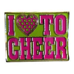 Heart To Cheer Trading Pin-0
