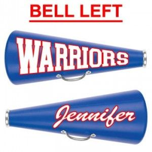 "13"" Cheerleading Megaphone with Decal Two Sides-28403"