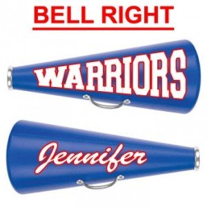 "25"" Cheerleading Megaphone with Decal Two Sides-27823"