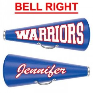 "13"" Cheerleading Megaphone with Decal Two Sides-28402"