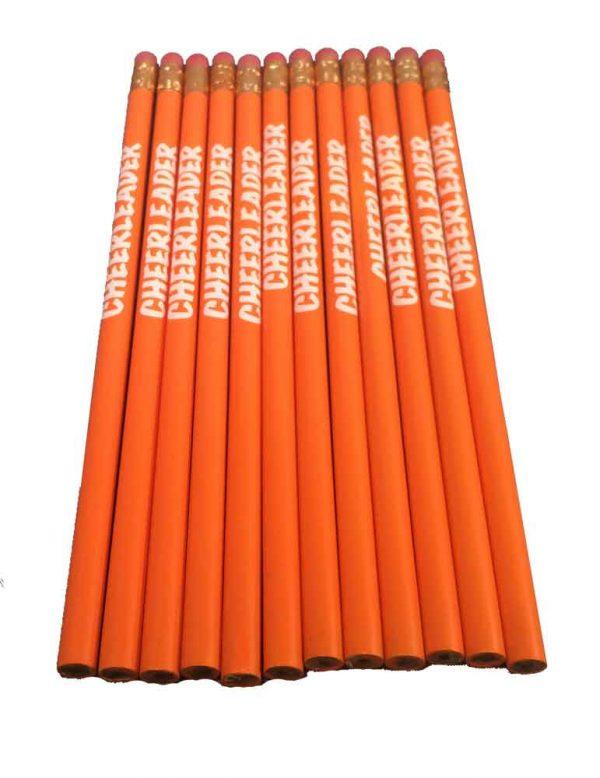 Cheerleader Pencil School Colors-27192