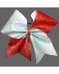 Cheer Hair Bow Glitter Premium Two Pack-0