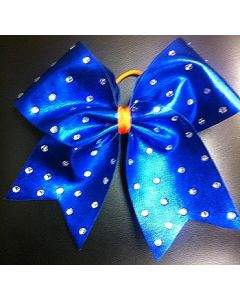 Cheerleader Hair Bow Rhinestone Two Pack-0