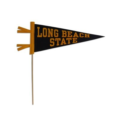 "Pennant 5"" x 12"" with 16"" stick-0"