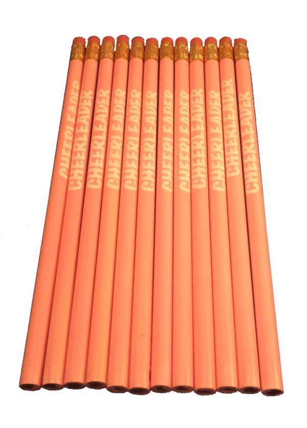 Cheerleader Pencil School Colors-27195