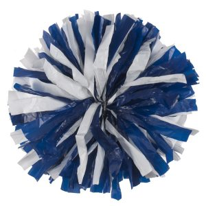 Custom - Plastic Cheer Pom Pom Ball 2 Color Mix-0