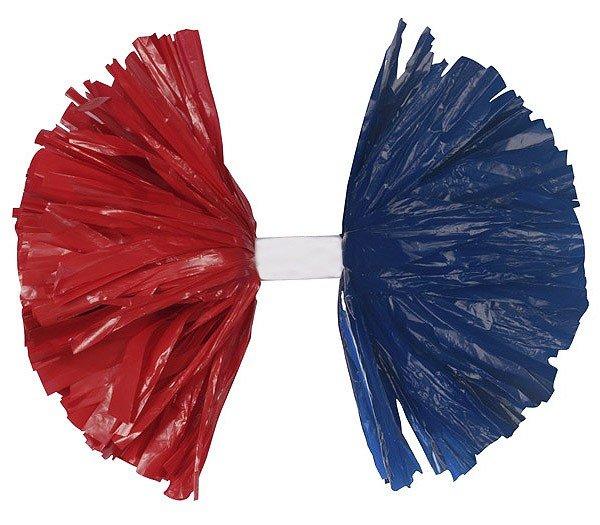 Alternating Baton Plastic Show Pom-0