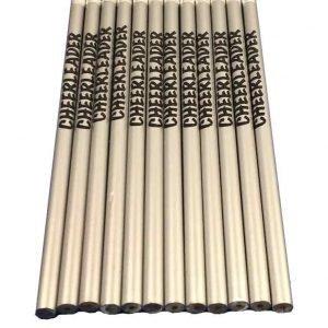 Cheerleader Pencil School Colors-0