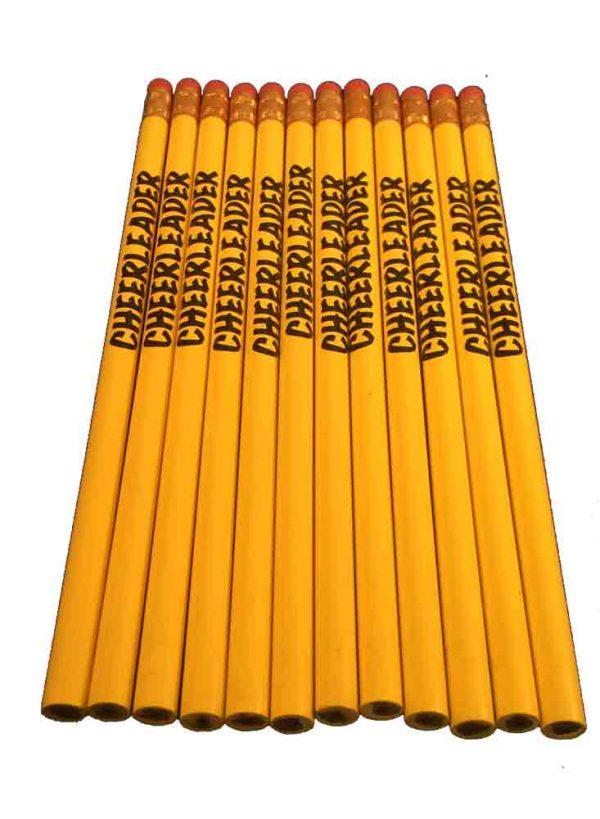 Cheerleader Pencil School Colors-27198