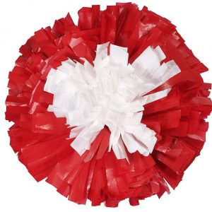 Custom 2 Color Target Plastic Cheer Show Pom-0