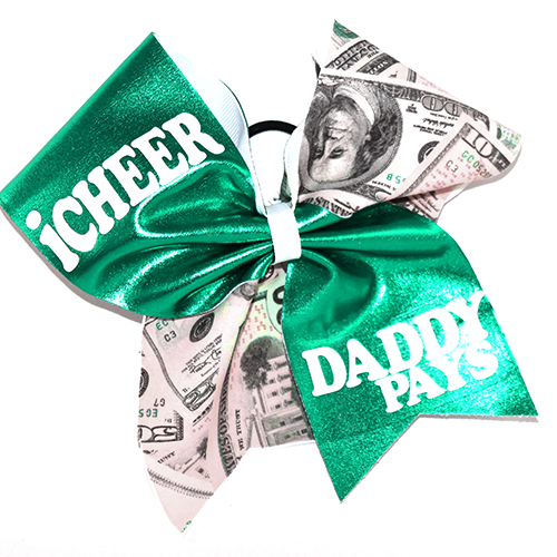 Bow I Cheer Daddy Pays