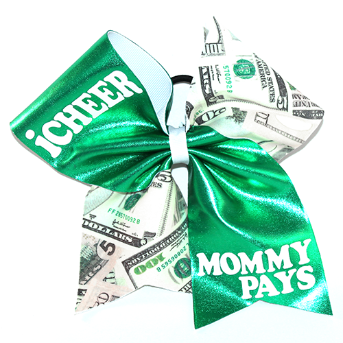 Bow I Cheer Mommy Pays