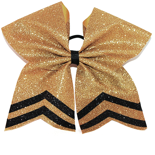 Solid Bow with Chevrons