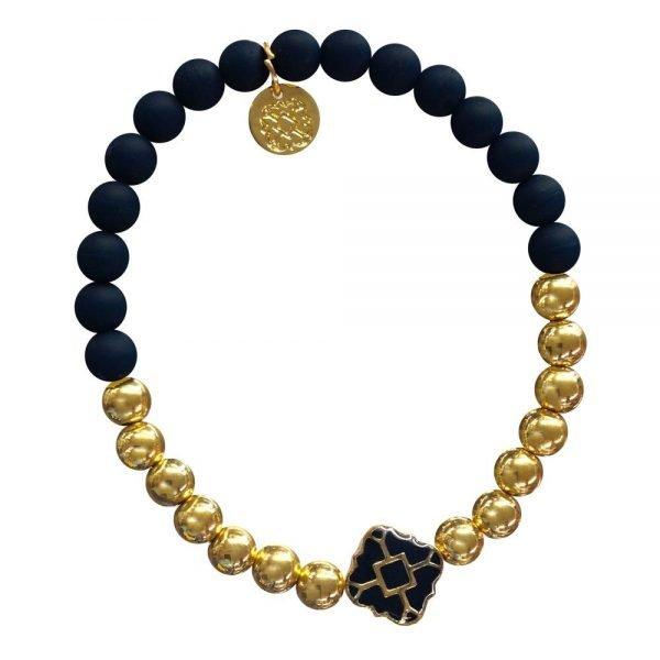 Gold Bracelet in Team Colors-28568