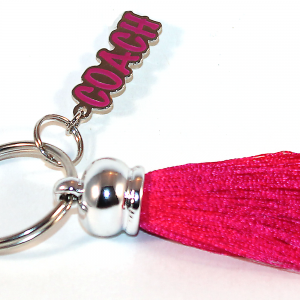 Tassel Coack Key Ring