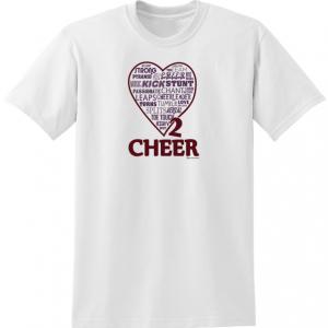 Cheerleading Tee Shirt T563-0