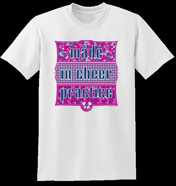Cheerleading Tee Shirt T570 Limited Supply 4 YXS, 6 YS, 3 YM, 11 YL, 8 AS, 12 AM, 12 AL, 1 XL, 2 XXL-0