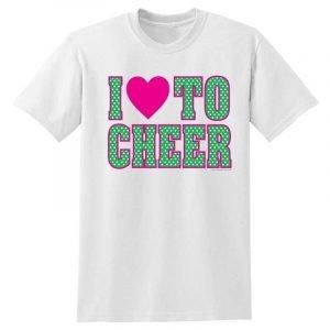 Cheerleading Tee Shirt T539-0