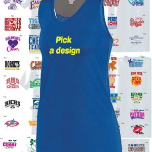 Ladies Astonish Cheerleading Tank -0