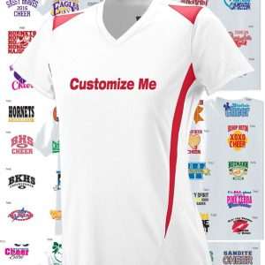 Cheerleader Premier Jersey with custom design, 2 Color Print-0